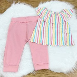 First Impressions Girls 2 Piece Multi-Color Set
